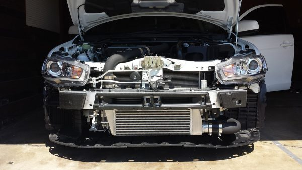 Evo X Lower intercooler pipe