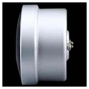 60mm Celsius Digital Water Temp Gauge White / Amber