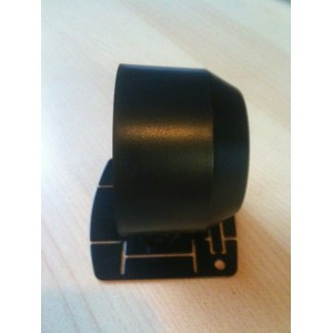 52mm Digital Oil Temp Gauge White / Amber