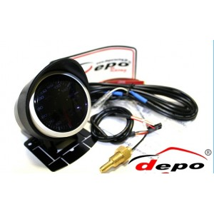 60mm PSI Digital Vacuum Gauge White / Amber