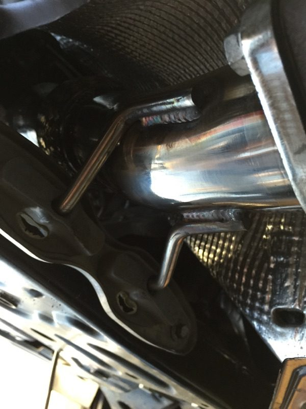 "2012+ Ford Focus ST 3"" Downpipe Hi Flow Cat 100 cell"
