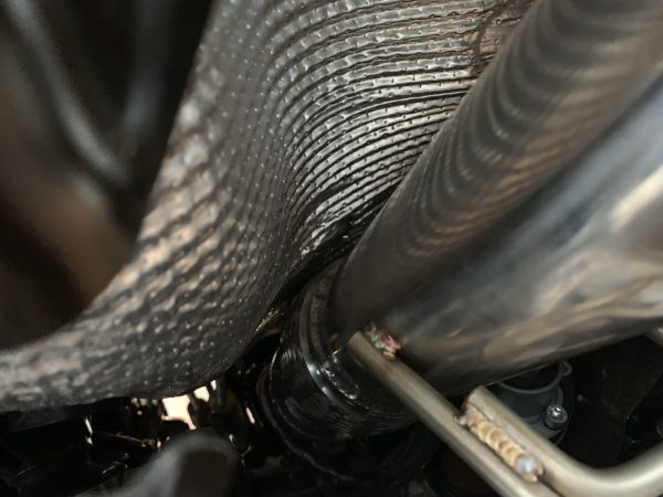 """2016+ Ford Focus RS 3"""" Downpipe Hi Flow Cat 100 cell"""